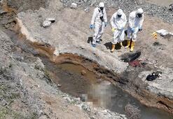 Dere yatağında çürümüş erkek cesedi bulundu