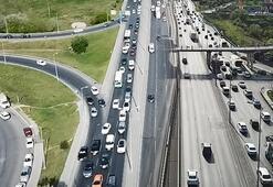 İstanbul trafiğinde son durum Yoğunluk yüzde 31e ulaştı