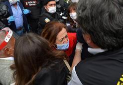 Son dakika: DİSK önünden Taksime yürümek isteyen gruba ve Kadıköyde eylem yapanlara gözaltı