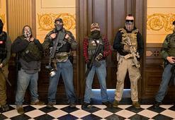 Son dakika haberler: Silahlı protestocular Michigan Eyalet Meclisini bastı