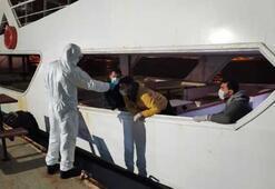 İzin almadan denize açılan 4 kişiye, 12 bin 600 lira ceza
