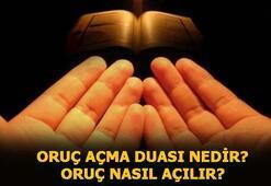 Oruç açma duası nedir, oruç nasıl açılır İşte iftar duası ve anlamı...