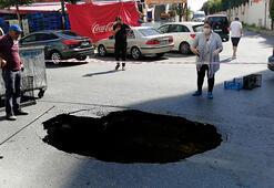 Son dakika haberler: İstanbulda yol bu hale geldi Nedeni ise...