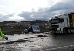 Son dakika   Ankarada feci kaza TIR ile otobüs çarpıştı: Çok sayıda yaralı var