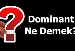 Dominant Ne Demek Tdkya Göre Dominantlık Kelimesinin Anlamı Nedir
