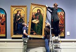 Jan Van Eyck sergisine salgın etkisi