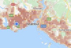 Hayat Eve Sığar corona virüs risk haritası... İstanbulda ilçelere göre koronavirüs haritası...