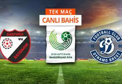 FC Belshina - FC Dinamo Brest maçı canlı bahisle Misli.comda