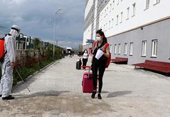 Vanda karantina süresi dolan 189 kişi evlerine uğurlandı