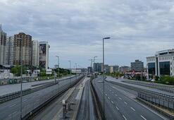 3 günlük yasak Yurt genelinde sokaklar boş kaldı