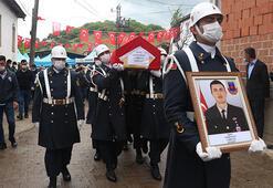 Şehit Jandarma Uzman Çavuş Hasan Kuzu son yolculuğuna uğurlandı