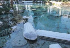 2 bin yıllık antik havuz sessiz kaldı