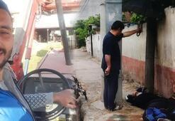 Feci kaza Kamyon ile  motosiklet çarpıştı