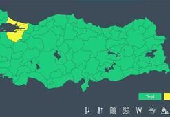 Meteoroloji o ilimiz için sarı uyarı yayımladı 18.00e kadar devam edecek