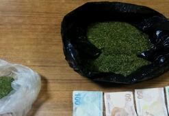 Manisada polisten kaçan şüpheli uyuşturucuyla yakalandı