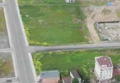 5 kişi drone ile tespit edildi Boş arazide böyle görüldüler