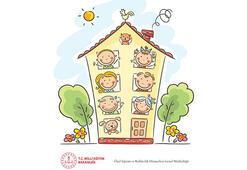 MEBden okul öncesi ve ilkokul seviyesi için Elif ve Alp karakterlerini içeren kitapçık