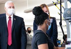 Mike Pence'ten maske itirafı