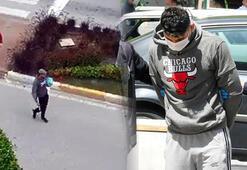 Kaçırdığı bebeğinin boğazına bıçak dayayan baba tutuklandı