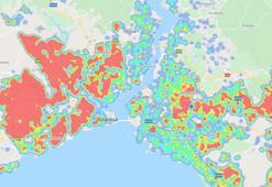 Son dakika: Corona virüs haritası İstanbul En riskli 49 mahalle açıklandı