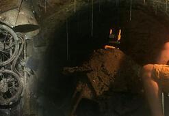 Karantinada canı sıkılan adam evinin altında 120 yıllık tünel keşfetti