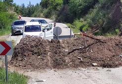 Ara yol açılmayınca Hatay sınırına gelen sürücüler geri döndü