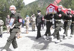 Şehit Piyade Uzman Onbaşı Gündeş Kahramanmaraşta son yolculuğuna uğrulandı