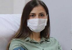 Corona virüsü yenen genç doktor immün plazma bağışçısı oldu