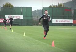 Beşiktaş, gruplar halinde çalışmalara başladı