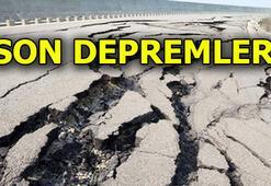 Deprem mi oldu Son depremler listesi AFAD - Kandilli Rasathanesi son dakika deprem haberleri