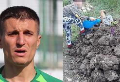 Süper Lig eski futbolcusu Cevher Toktaş hastanede oğlunu boğarak öldürdü