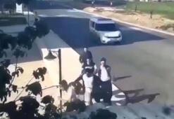 Bursada polis otosunu gören gençler kaçacak yer aradı