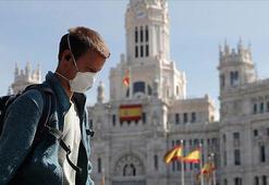 İspanyada corona virüsten son 24 saatte 244 kişi öldü