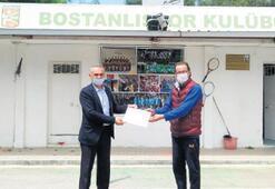 Bakan Kasapoğlu'ndan Bostanlıspor'a teşekkür