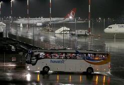 Arjantin ve Brezilyadaki Türk vatandaşları İstanbula getirildi
