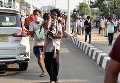 Hindistanda sanayi tesisinden sızan kimyasal gaz nedeniyle 8 kişi ölü
