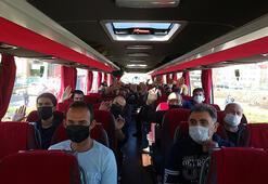 Orduda karantina süreleri dolan 181 kişi evlerine gönderildi
