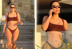 Kim Kardashianın karantina tatili