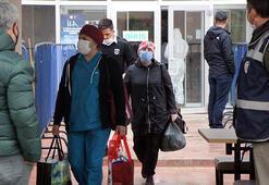 Karantinada kaldıkları yurttan polis merkezine götürüldüler