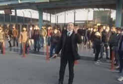 İETT durağında otobüs bekleyenlerin isyanı