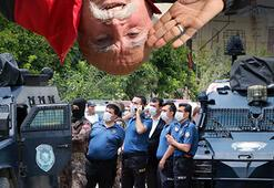 Komando dede olarak tanınan emekli öğretmen, havaya ateş açıp polise direndi