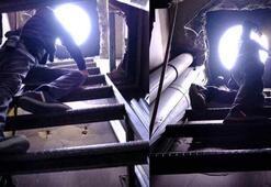 Polisten kaçabilmek için kıraathaneye tünel yapmışlar