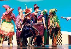 Çocukların hayali tiyatro sahnesinde