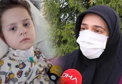 Omurilik enfeksiyonu geçiren Ahmet Furkan yaşam savaşı veriyor