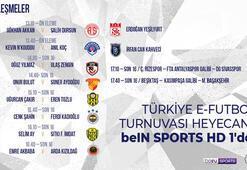 Türkiye E-Futbol Turnuvası başlıyor