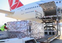 Türkiye'nin tıbbi yardım malzemeleri Ukrayna'ya ulaştı
