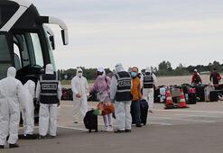 Birleşik Arap Emirliklerinden 195 kişi Türkiyeye getirildi