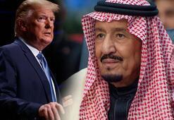 Trump ile Kral Selmandan kritik görüşme
