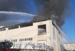 Son dakika... Gebzede fabrika yangını Ekipler bölgede