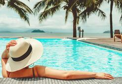 Corona varken yüzmek için en güvenli yeri açıkladı 2-3 metre...